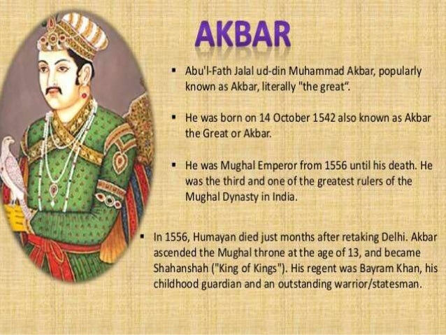 Essay On Akbar The Great