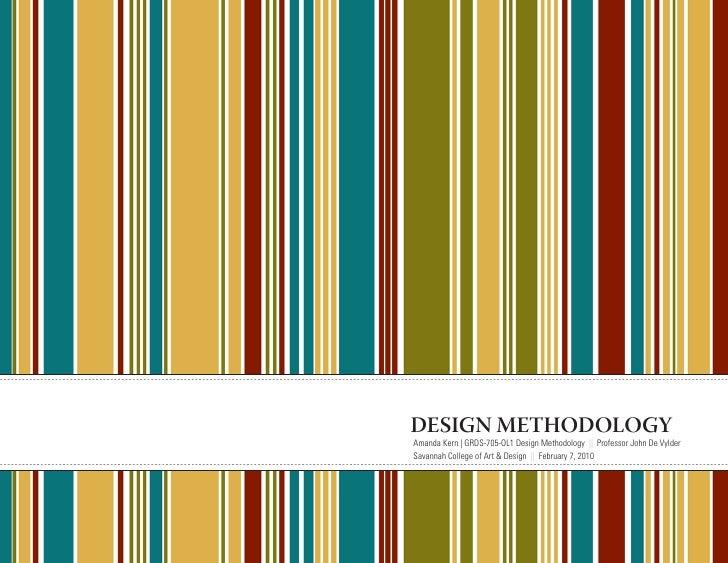 Design methodologies process book