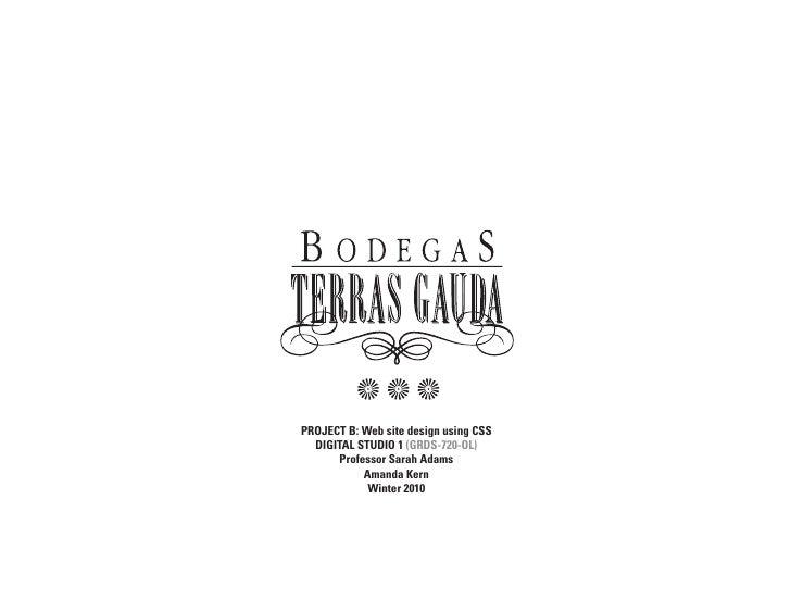 Bodegas multiple version CSS web design