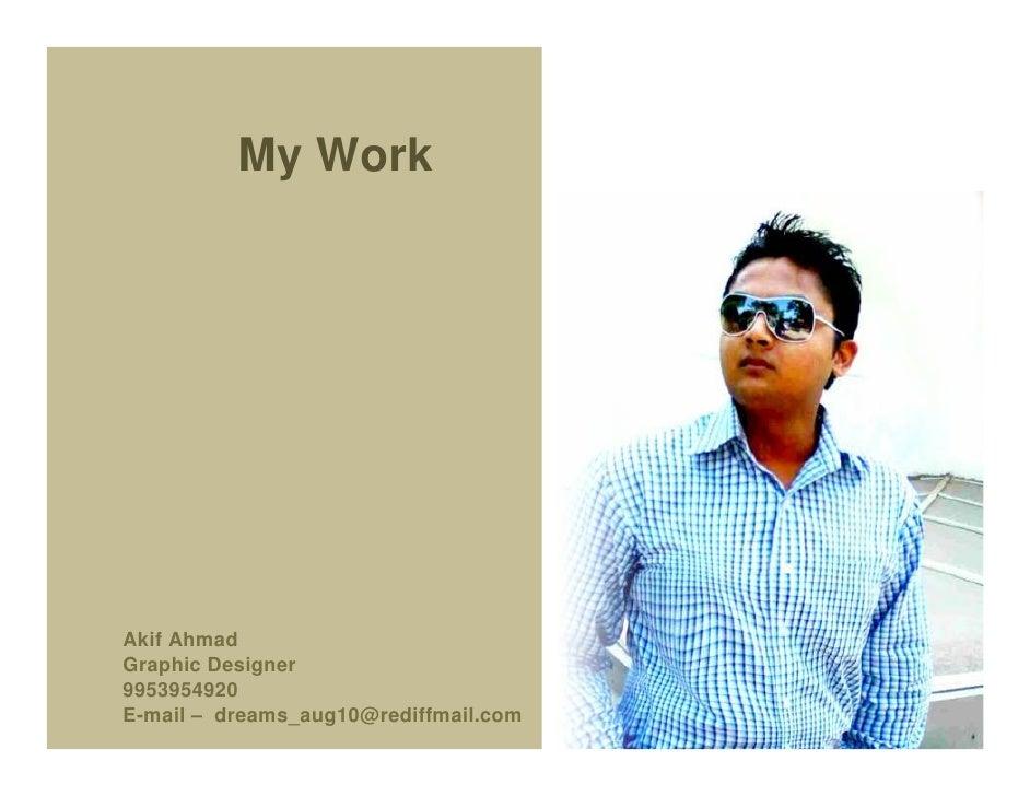 Akif  Creative Work