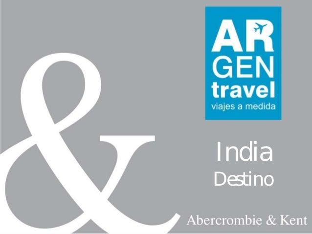 Viaje de lujo a India
