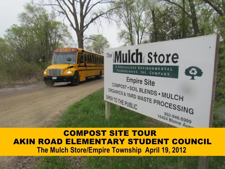 Akin Road Elementary Compost Tour