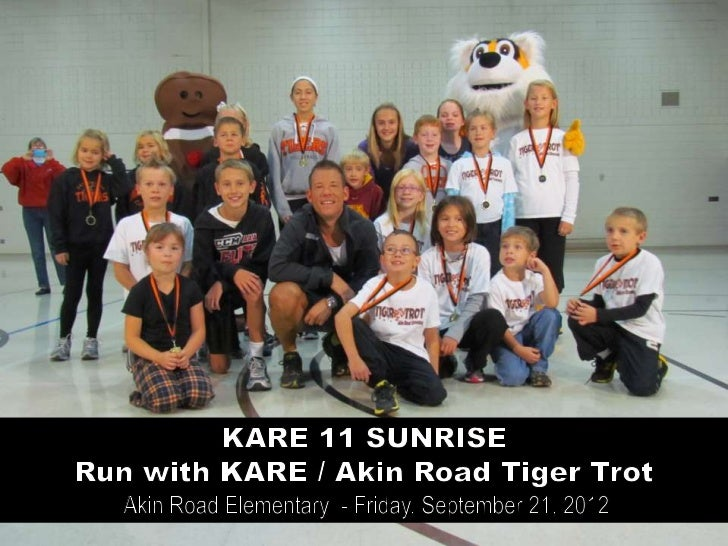 Akin Road Tiger Trot / Run with KARE