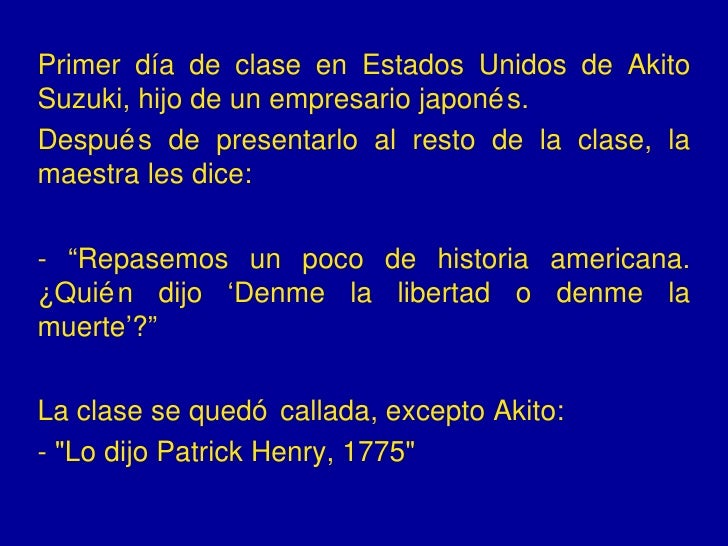 Primer día de clase en Estados Unidos de Akito Suzuki, hijo de un empresario japonés. Después de presentarlo al resto de l...