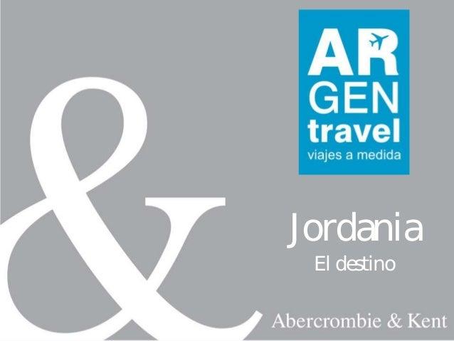 JordaniaEl destino