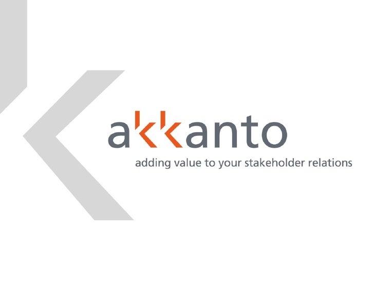 Akkanto Master Presentation Ppt Eng