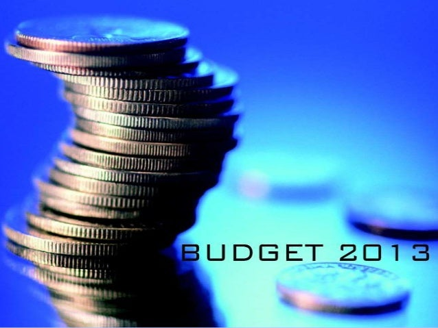 BUDGETBudget is an estimation ofincome and expenditure fora set period of time, it putforward by a financeminister.India's...