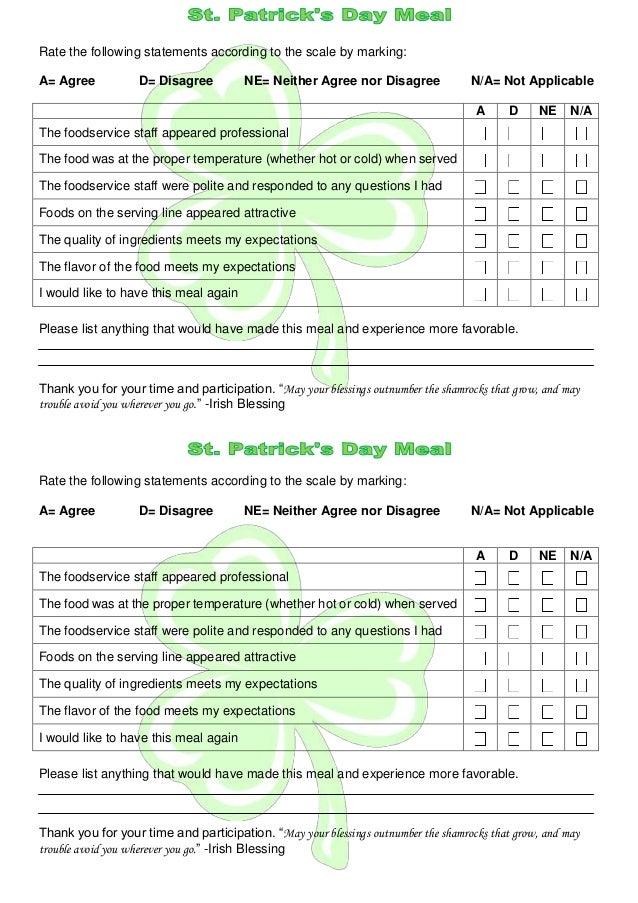 A kliewer meal_survey