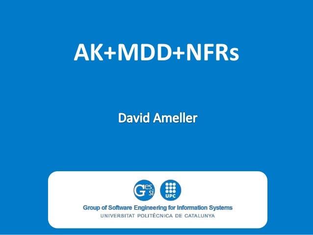 AK+MDD+NFRs