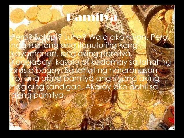 ako at ang aking pamilya essay Free essays on ang aking sarili paglalarawan get help with your writing 1 through 30.