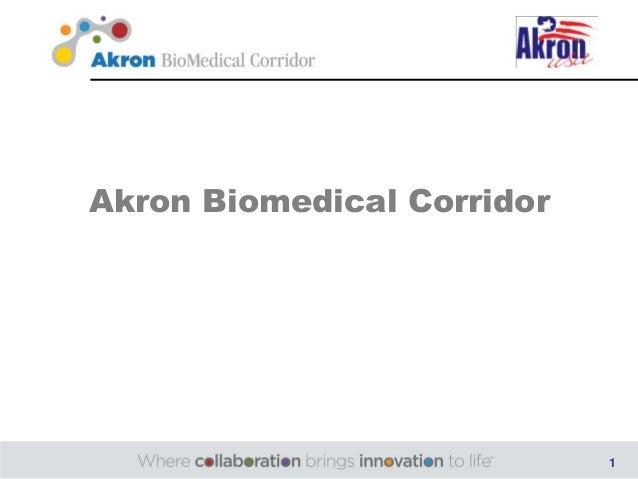 Akron Biomedical Corridor                            1