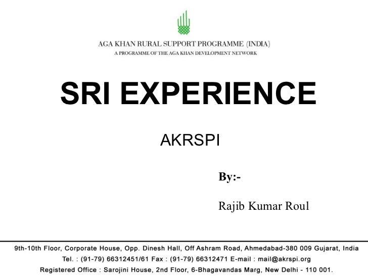 AKRSP  Bihar