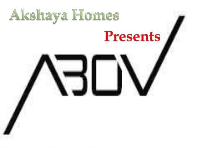 Akshaya Homes Abov Call – 9555666555