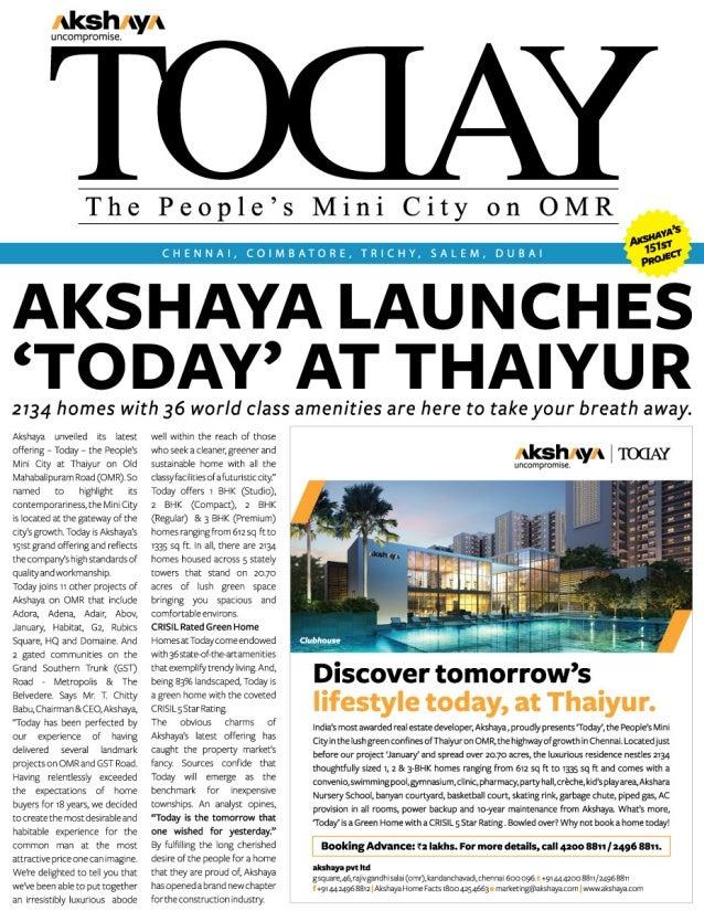 Akshaya Today
