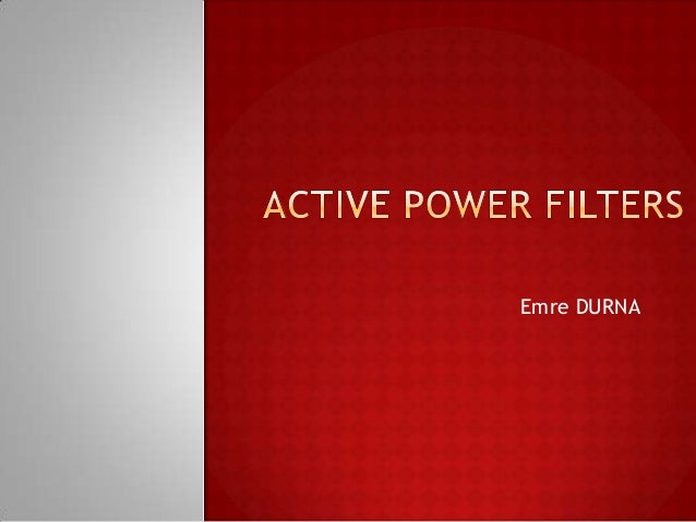 shunt active power filter thesis
