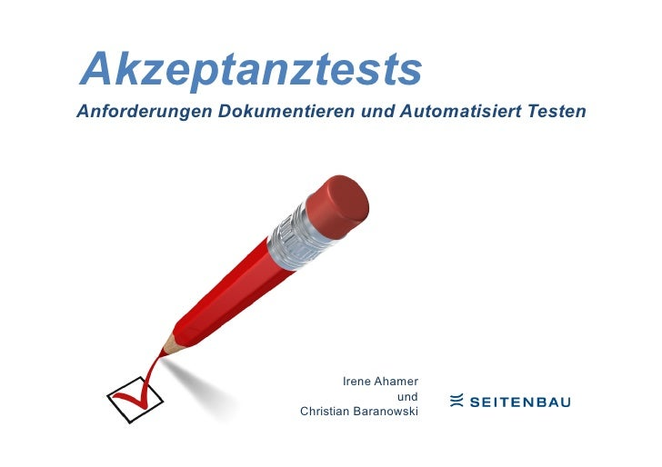 Acceptance testing (German)