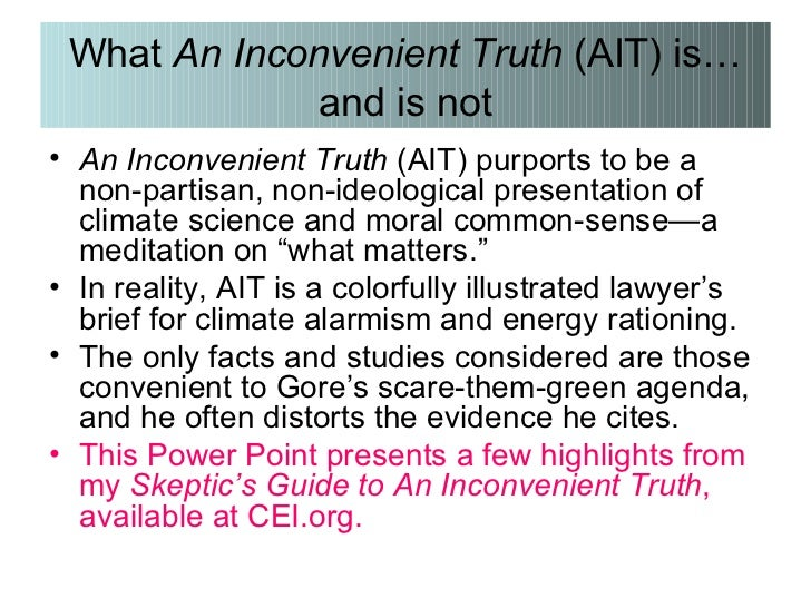 an inconvenient truth reflection paper The movie an inconvenient truth is not only a mere documentation it is a strong and very passionate message to the people all over the world that our planet is not on a slow progress to imminent doom, but that already all over the world we are experi.