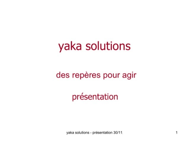 Al   Yaka Solutions  30 11 2005
