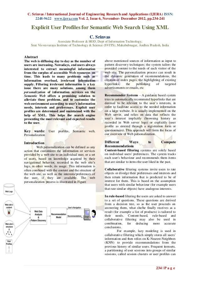 C. Srinvas / International Journal of Engineering Research and Applications (IJERA) ISSN:       2248-9622 www.ijera.com Vo...
