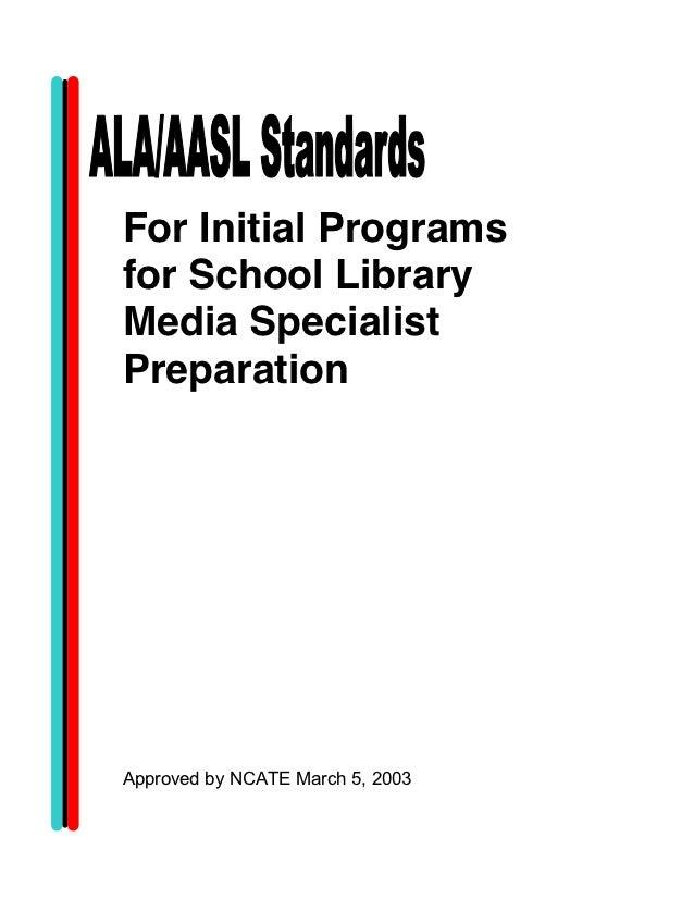 ALA-AASL Standards