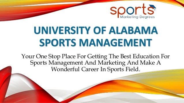 Sports Management what is a popular