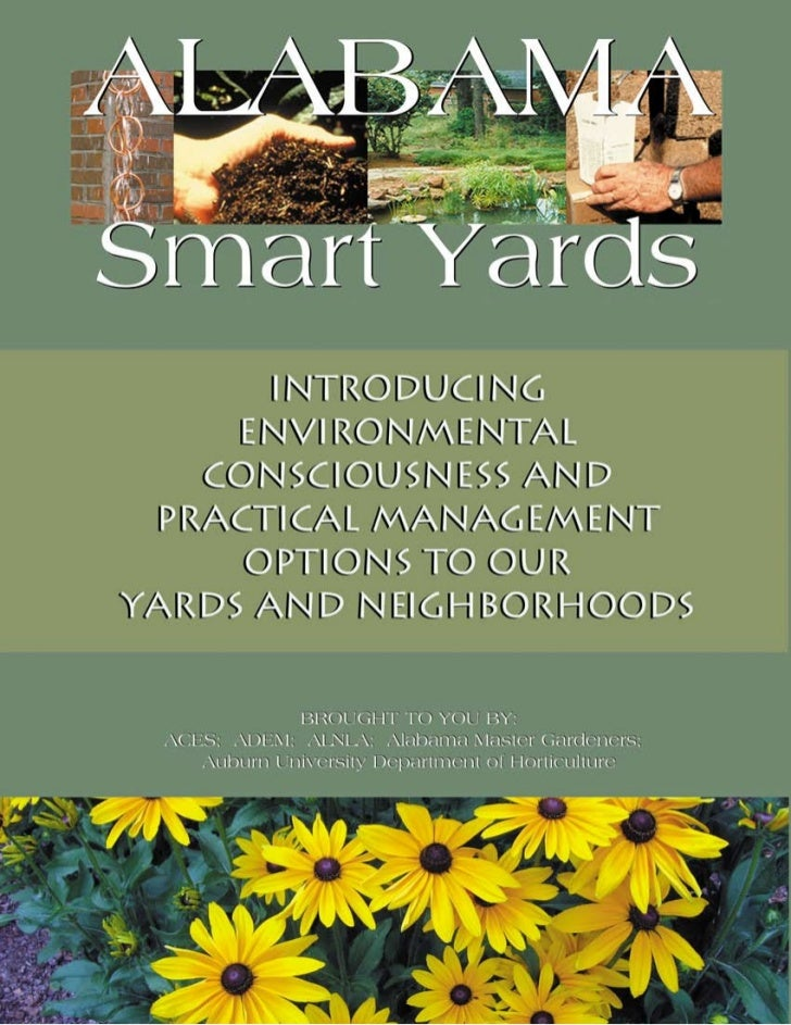 Introducing Environmental Consciousness               and Practical management Options              to our     Yards & nei...