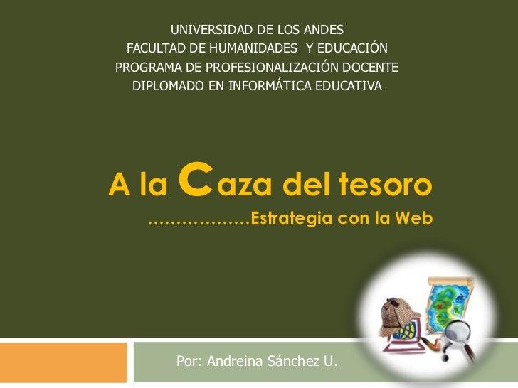 UNIVERSIDAD DE LOS ANDES<br />FACULTAD DE HUMANIDADES  Y EDUCACIÓN<br />PROGRAMA DE PROFESIONALIZACIÓN DOCENTE<br />DIPLOM...