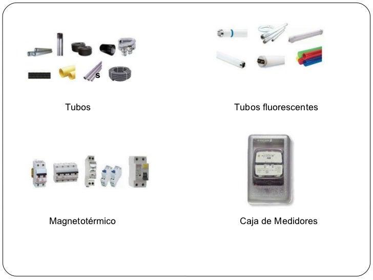 Presentaci n circuitos e instalaciones el ctricas for Porta tubos fluorescentes