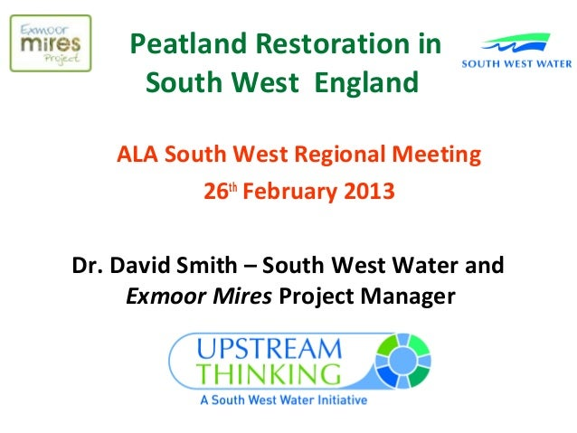 Peatland Rewetting in the South West