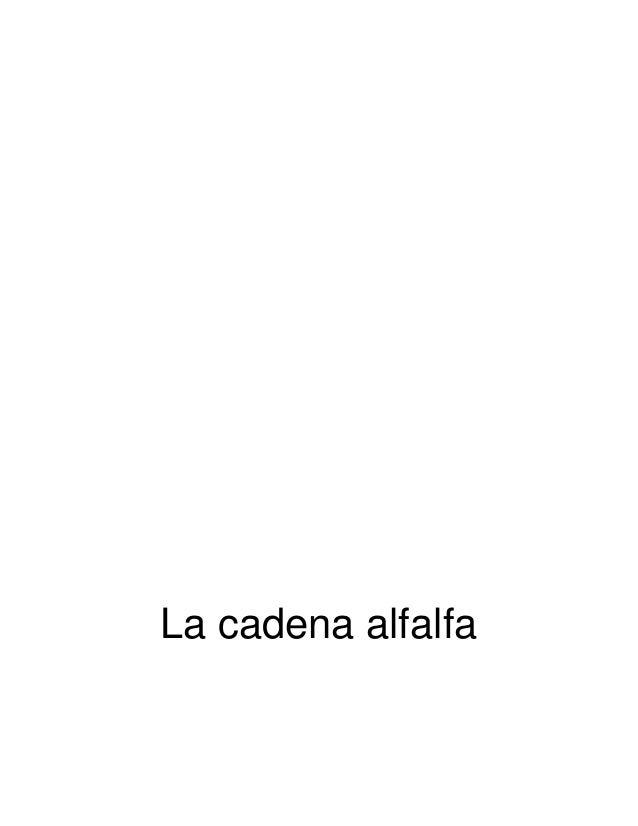 La cadena alfalfa