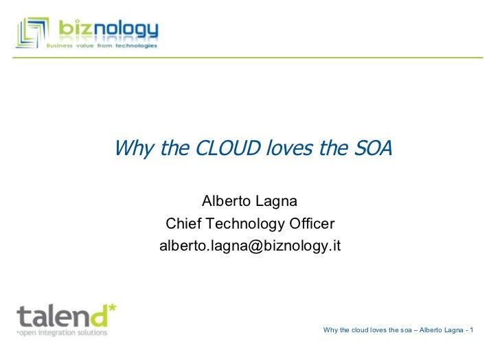 why cloud loves soa