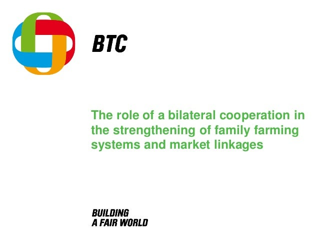 The role of a bilateral cooperation in the strengthening of family farming systems and market linkages