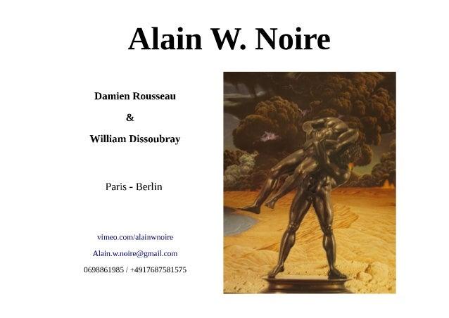 Alain w. noire portfolio