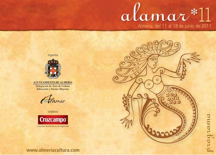 Presentación Festival ALAMAR 2011