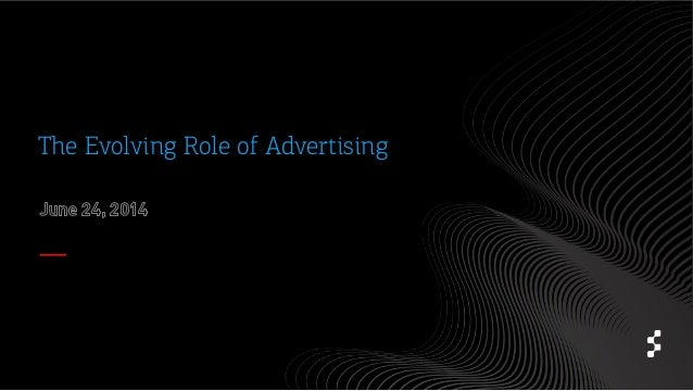 role of advertising Advertising is a single component of the marketing process it'sthe part that involves getting the word out concerning your business,product, or the services you are.