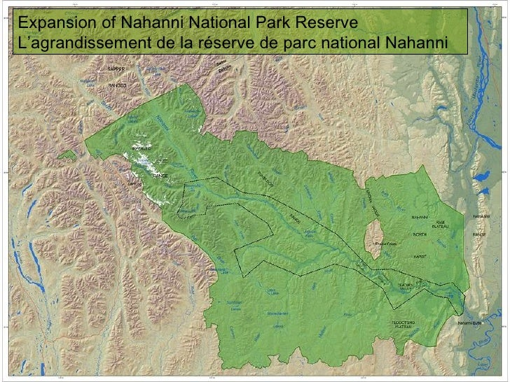 Expansion of Nahanni National Park Reserve L'agrandissement de la réserve de parc national Nahanni