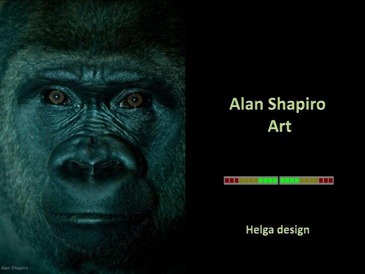 Alan Shapiro art