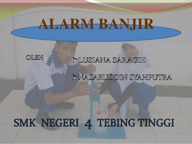 : ALARM BANJIR