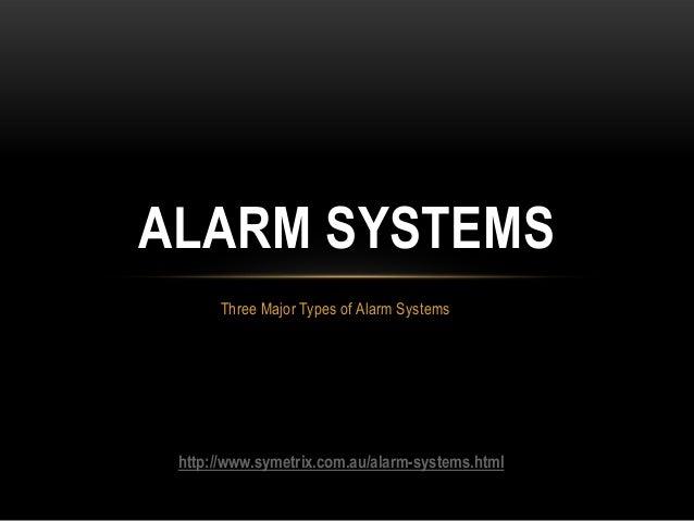 alarm systems ppt 0502. Black Bedroom Furniture Sets. Home Design Ideas