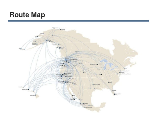 alaska air route map pdf