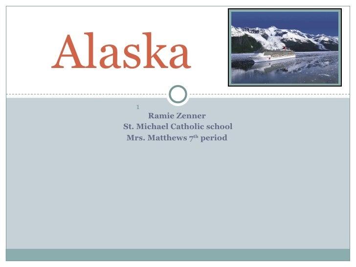 <ul><li>Ramie Zenner  </li></ul><ul><li>St. Michael Catholic school </li></ul><ul><li>Mrs. Matthews 7 th  period  </li></u...
