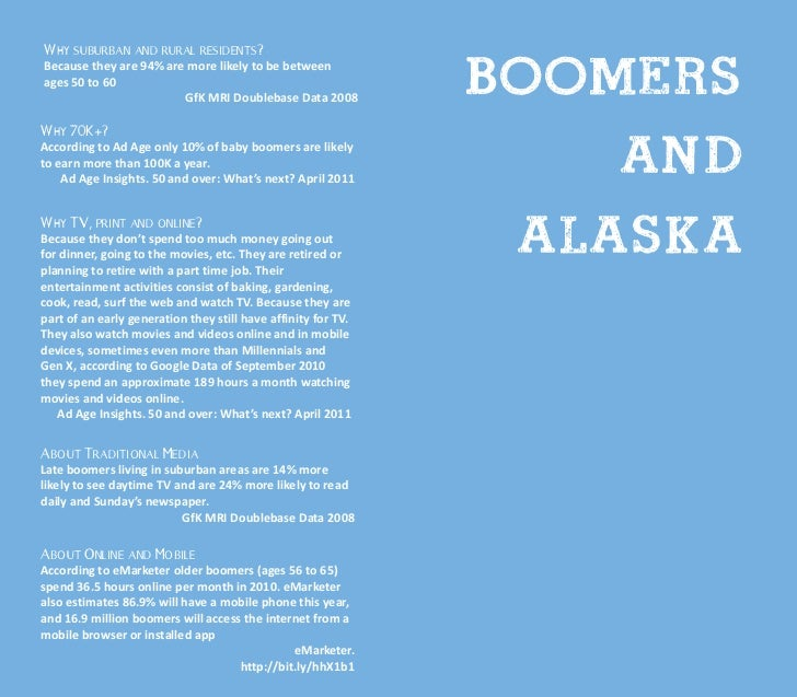 Alaska. Insights for Late Boomers