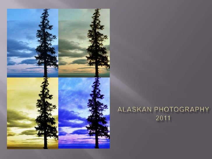 Alaskan photography slide show