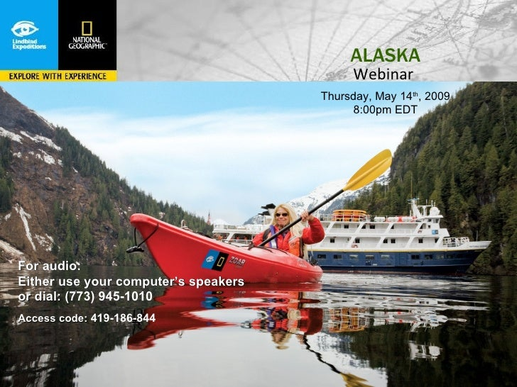 Alaska Cruises- Webinar Slide show May 2009