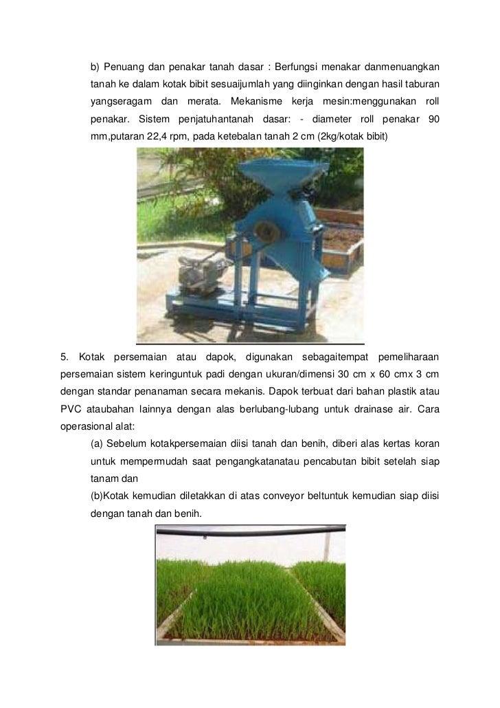 Alat Alat Mekanisasi Pertanian