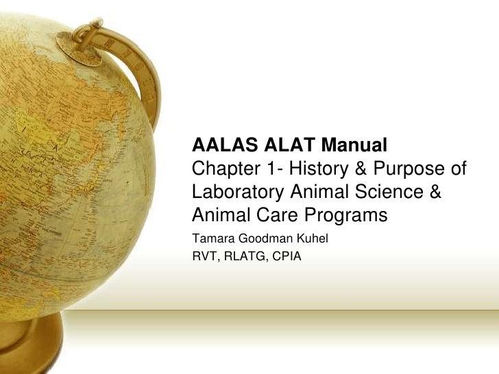 AALAS ALAT Chapter 1 History