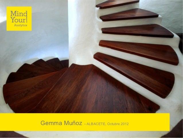 Gemma Muñoz – ALBACETE, Octubre 2012