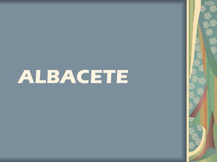 Albaceteeee