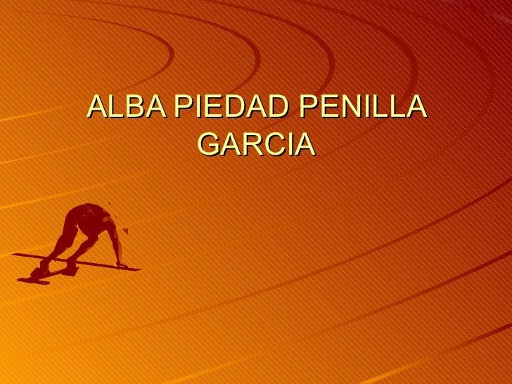 ALBA PIEDAD PENILLA      GARCIA