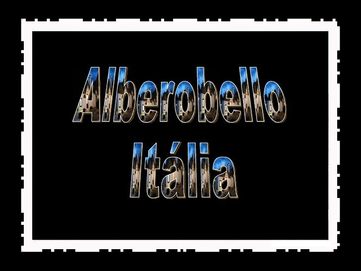 Alberobello Itália